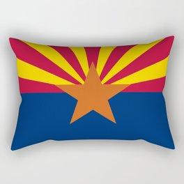 Arizona: Arizona State Flag Rectangular Pillow