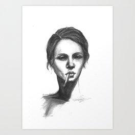 Sunday Face Art Print