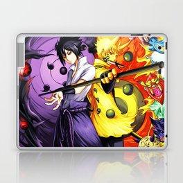 sasuke and naruto Laptop & iPad Skin