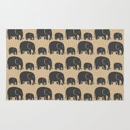 Elephant Earth Rug