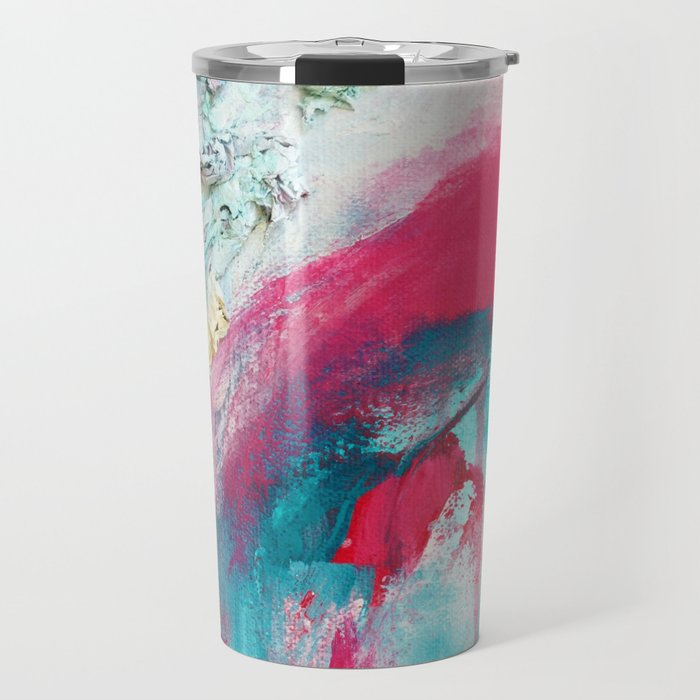 Untitled (Carrying On) Travel Mug