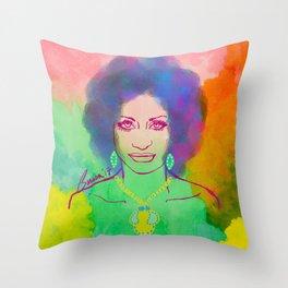 CELIA CRUZ Throw Pillow