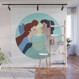 Kiss the girl Wall Mural