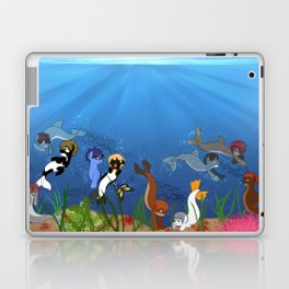 Free Eternal Summer Pony All together Laptop & iPad Skin