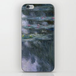 Water Lilies (Nymphéas) iPhone Skin