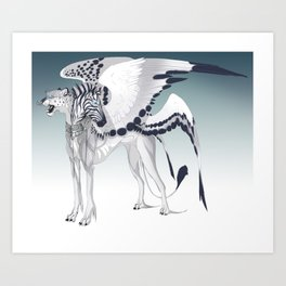 Thrones Art Print
