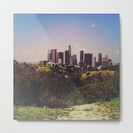 Good Morning DTLA Metal Print