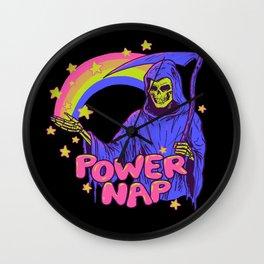 Power Nap Wall Clock