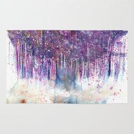 Mystical Tree Illustration Rug