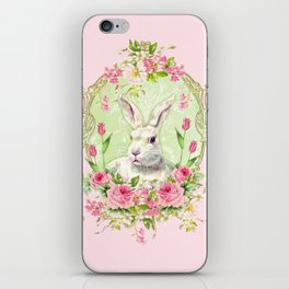 Spring Bunny iPhone Skin