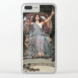 Circe Offering the Cup to Odysseus - Clear iPhone Case