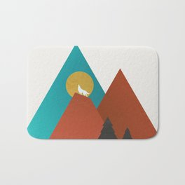 Tipi by the River Bath Mat