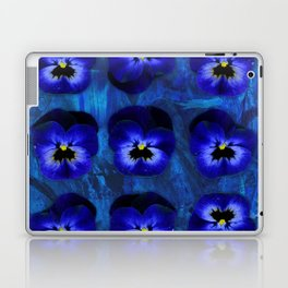 Deep Blue Velvet Laptop & iPad Skin