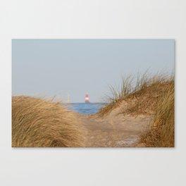 At the beach 10 Canvas Print