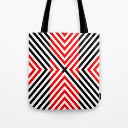 Simple Streak Tote Bag