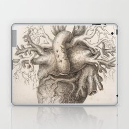 The Back Of The Heart Laptop & iPad Skin
