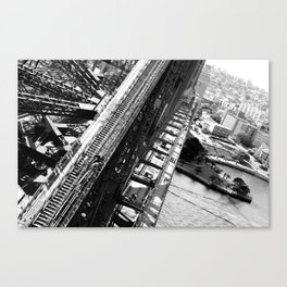 Queen Victoria Bridge Canvas Print