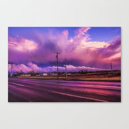 COLD LIPS AND TEMP DIPS Canvas Print