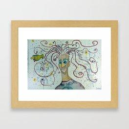 Fare Thee Well Fan Framed Art Print