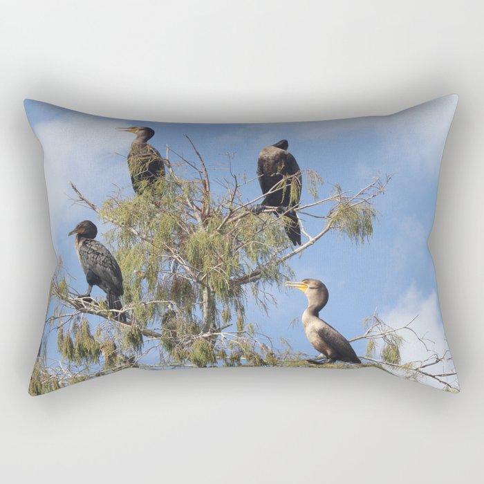 Cormoran Tree Rectangular Pillow