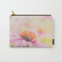 Pink Coneflower Revels Carry-All Pouch