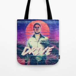 Drive 80s VHS poster Tote Bag