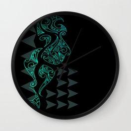 Riddick - Blue Wall Clock