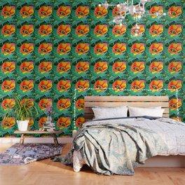 Flower in Expressive Birth Wallpaper