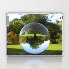 Old Park Tree, crystal ball / Glass Ball Photography Laptop & iPad Skin