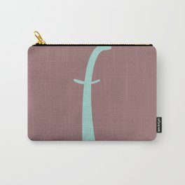 Letter F Initials Carry-All Pouch