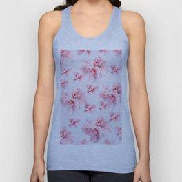 Pink Azalea Flower Dream #1 #floral #pattern #decor #art #society6 Unisex Tank Top