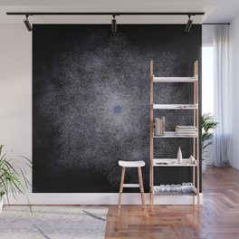 polygon mandala 01 // space Wall Mural