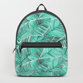 Tropical Turquoise Backpack