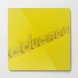 Advance Metal Print