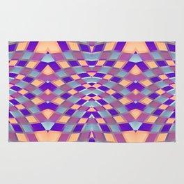 Geometric Kaleidoscope G423 Rug