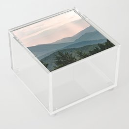 Smoky Mountain Pastel Sunset Acrylic Box