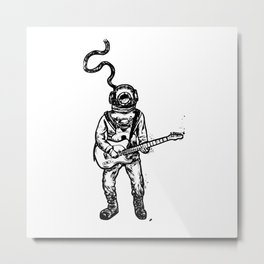 submersible sound Metal Print