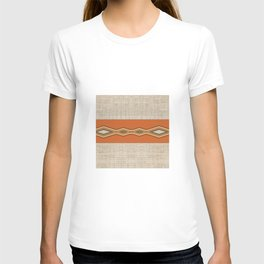 Southwestern Earth Tone Texture Design T-shirt