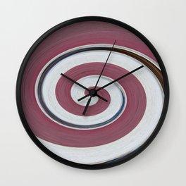 Swirl 06 - Colors of Rust / RostArt Wall Clock