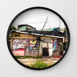 Casita de Colores Wall Clock