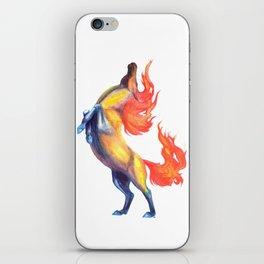 fire horse 2 iPhone Skin