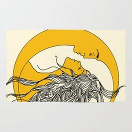 Sun and Moon Rug