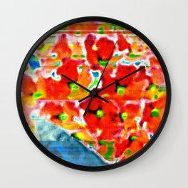 Butterfly bush Wall Clock