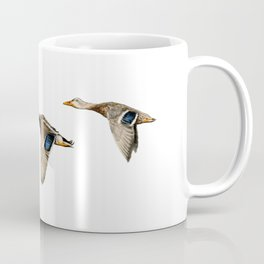 Flying Mallards Coffee Mug