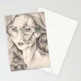 I Turn Myself Inside Out Stationery Cards