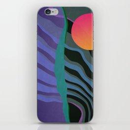 Crepuscular Streams iPhone Skin