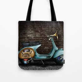 Traveling Melody Tote Bag