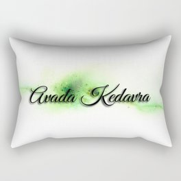 Avada kedavra Rectangular Pillow