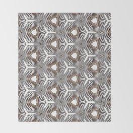 Zebra inspired digital print Throw Blanket