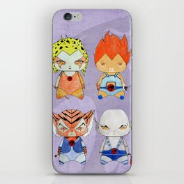 A Boy - A Girl - Thundercats iPhone Skin